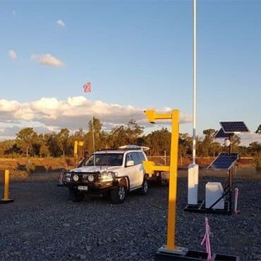 Sector 2 Boom Gate at mining site blog image
